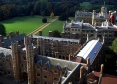 Hydrogen Fuel Research - St Johns Rear Buildings at the University of Cambridge
