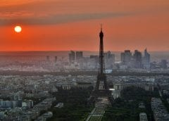 Paris Agreement - Image of Paris with Eiffle Tower