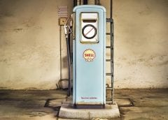 Renewable Energy - Shell Gas Pump