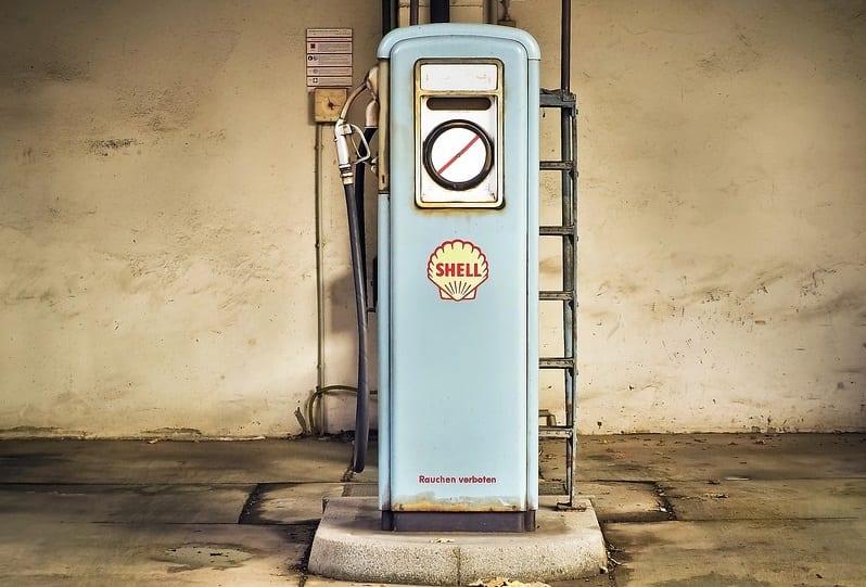 Renewable Energy - Shell Gas Pump