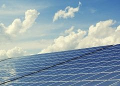 Solar Farm - Solar Panels and Sky