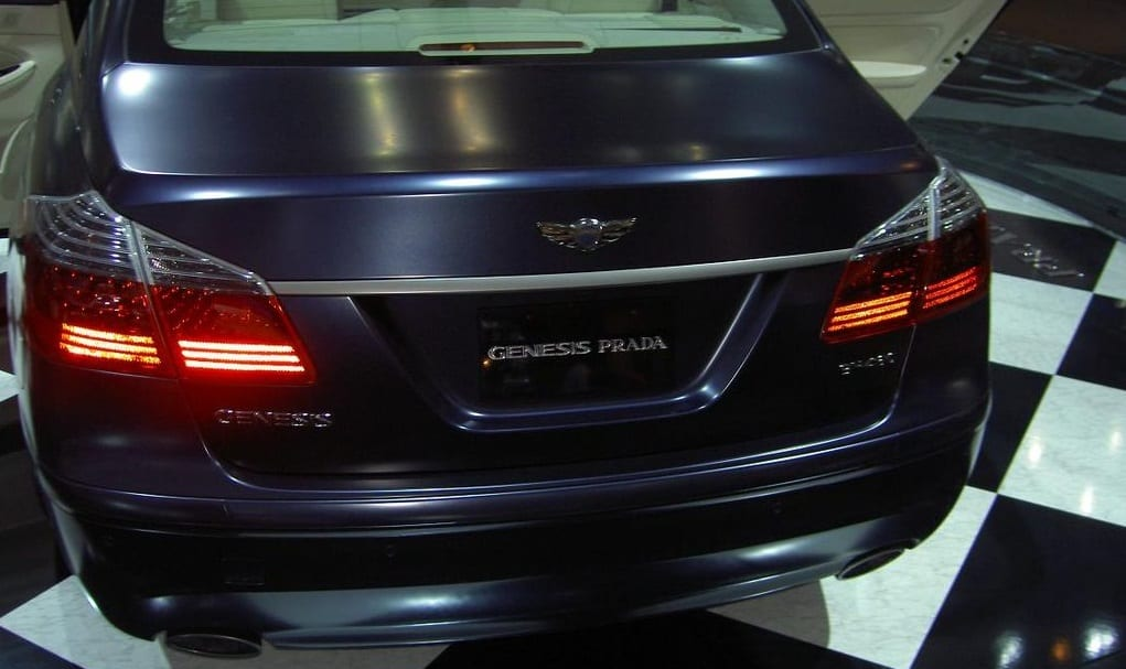 Clean Technology - Hyundai Genesis Prada