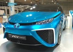 Fuel Cell Vehicles - Image of Toyota Mirai Concept Car