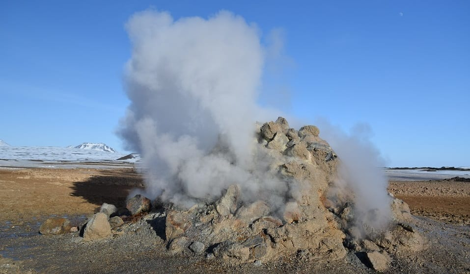 Geothermal Energy - Volcano in Iceland