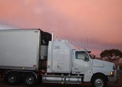 Hydrogen Fuel Cells - Image of Freight Truck