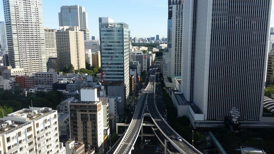 Hydrogen Society - Japan roads in Tokyo