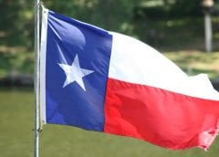 Wind Enegy - Texas Flag in Wind