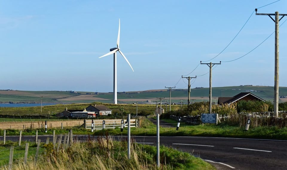 Wind Energy - Wind Turbine in Scotland