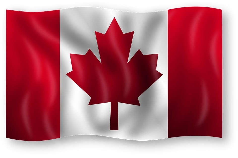 Canadian Flag - Clean Vehicles