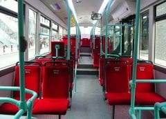 Fuel Cell Vehicles - Interior of Hydrogen Bus