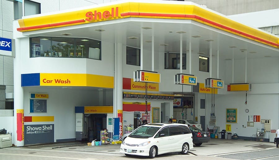 Fuel Cell Vehicles - Shell Gas Station