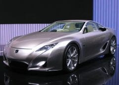 Hydrogen Fuel Cells - Image of Lexus Car