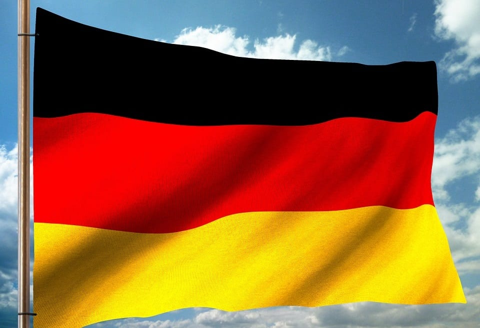 Hydrogen Fuel Cells in Germany - German Flag
