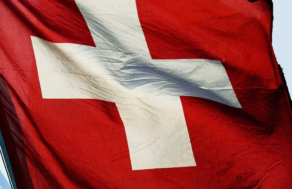 Renewable Energy - Switzerland Flag