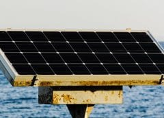 Solar Energy - Solar Panel Near Water