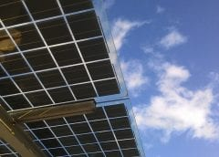 Solar Energy - Underside of solar panels