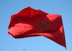 Wind Energy - Flag of morocco