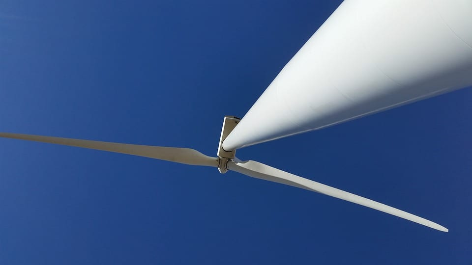 Wind Farm Project - Image of Big Wind Turbine