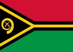 Renewable Energy - Flag Vanuatu
