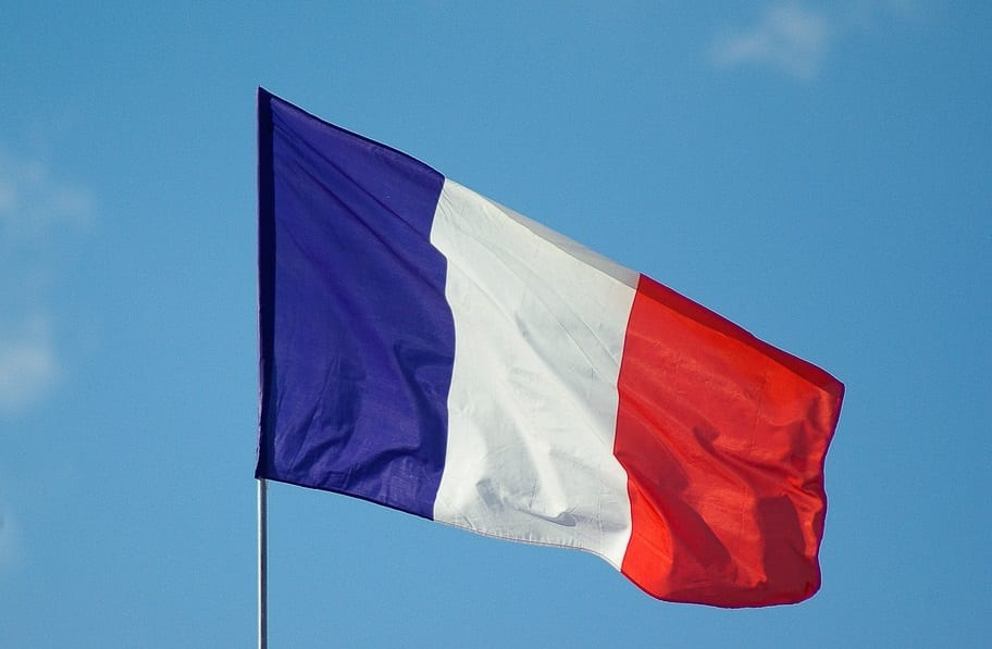 Renewable Energy in France - French Flag