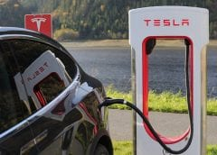 Electric Vehicles - Tesla Charging Station