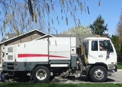 Hydrogen Fuel - Image of Street Sweeper