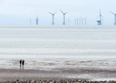 Offshore wind energy - Wind Turbines in Ocean