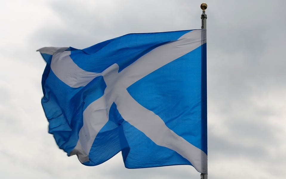 Scotland Flag - Wind Energy