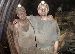 Wind Energy Training - Image of Coal Miners