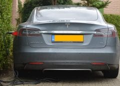 Electric Vehicles - Tesla Model S charging