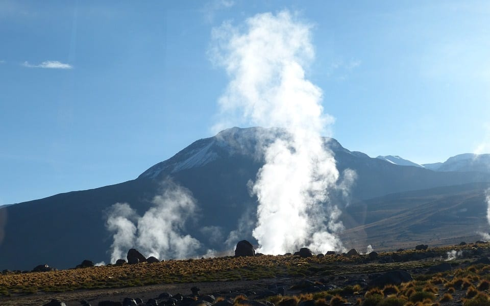 Geothermal Energy - Landscape in South America