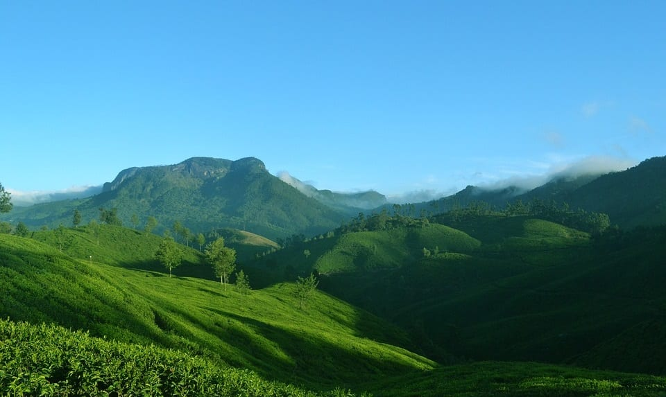 India Renewable Energy Goals - Green Landscape in India