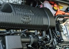 Toyota clean vehicles - Hybrid engine