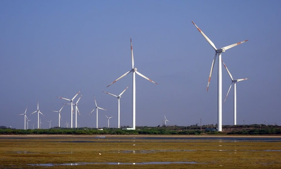 Wind energy - wind farms - wind power