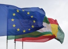 EU Flag - Renewable Energy European Union and Europe