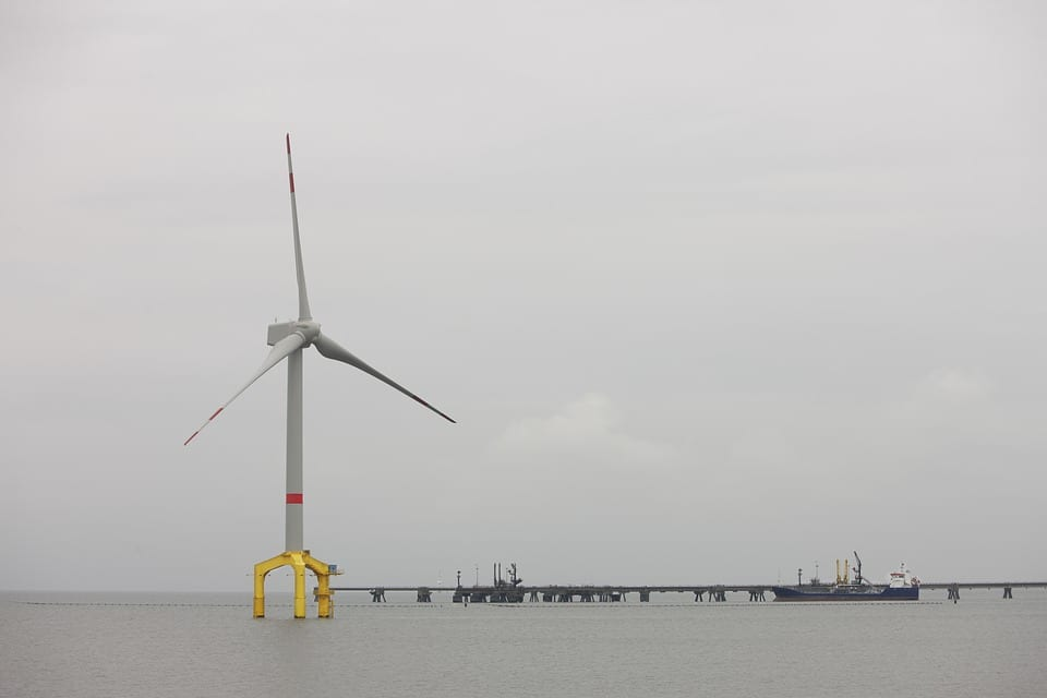 Offshore wind energy project - Offshore wind turbine