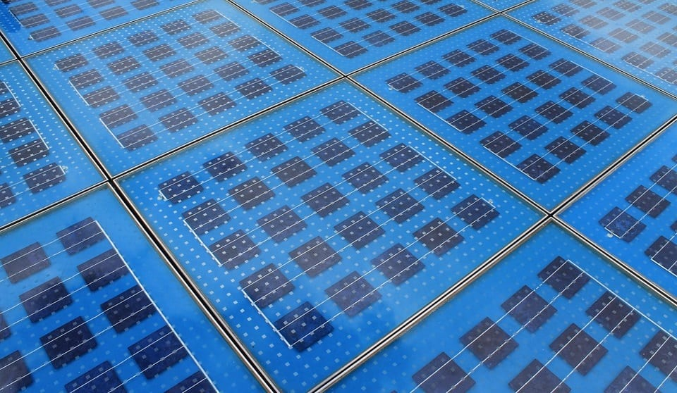 Solar Cells - Collection of solar tiles
