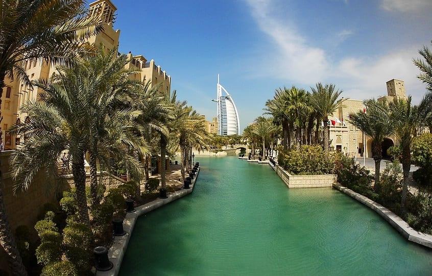 Solar Energy - Sunny Day in Dubai