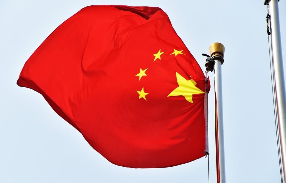 Solar Energy in China - Chinese Flag
