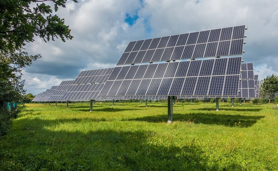 Solar Industry - Solar Panels in Field