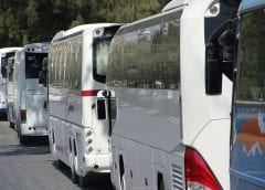 Fleet of buses - fuel cells buses