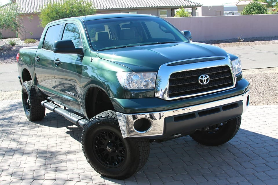 Hydrogen Fuel Cells - Image of Toyota Truck