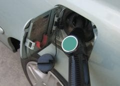 Hydrogen fuel - gas station - refueling car
