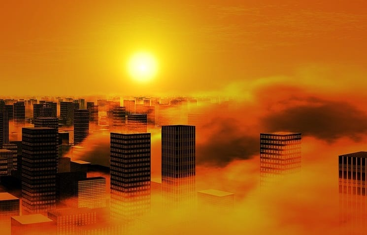 Solar energy is suffering in China due to air pollution