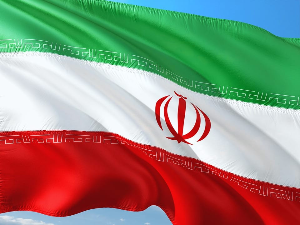 Solar Energy - Flag of Iran