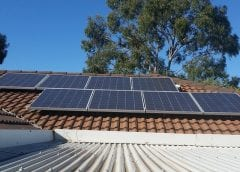 Solar Panels on Rooftop - Solar Energy