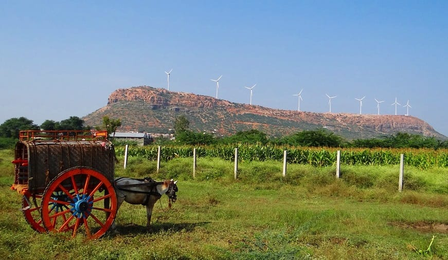 Wind Energy in India - Wind Turbine farm