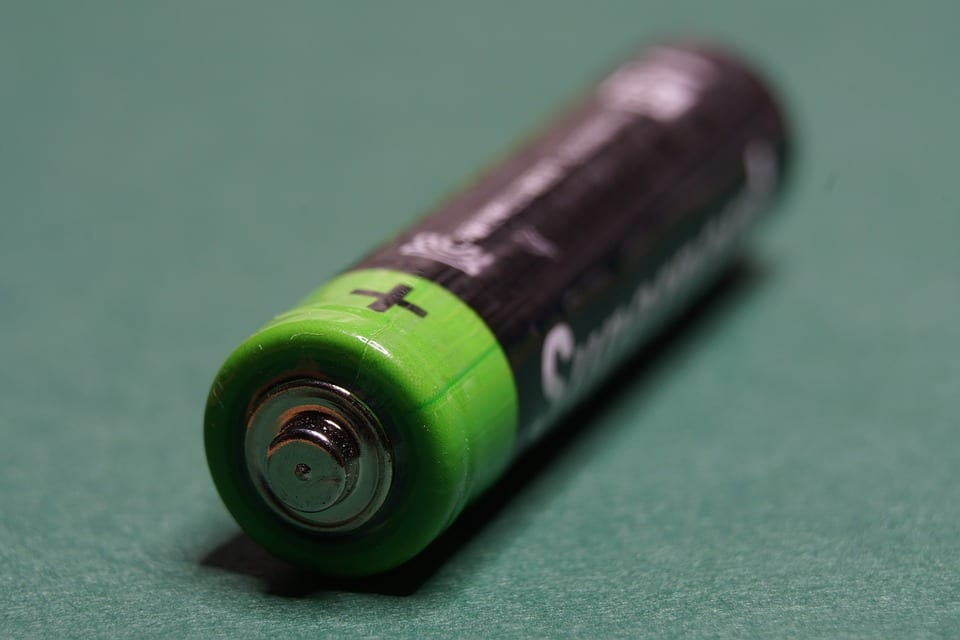 fuel cells - image of battery