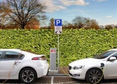 Electric Vehicles - Electric cars charging