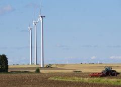 Wind Energy in Sweden - Wind turbine farm